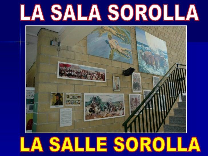 ¡HOLA!, YA ME CONOCÉIS, SOY CARMEN. NUESTRO COLEGIO TIENE VARIAS SALAS DE PINTURA, PARECEUN MUSEO (LA SALA DALÍ, LA SALA M...