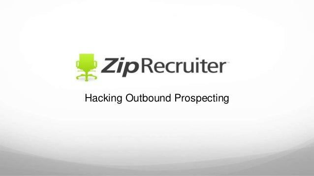 Hacking Outbound Prospecting