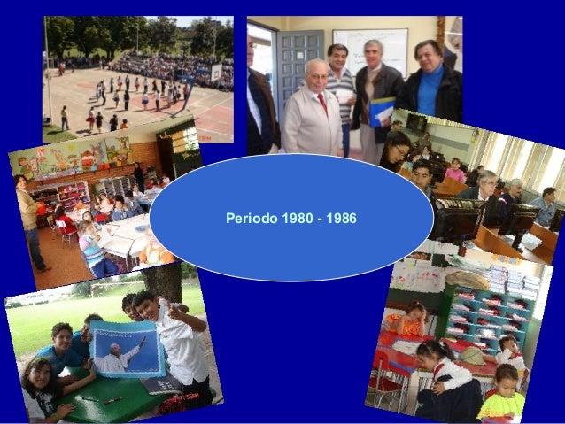 Periodo 1980 - 1986