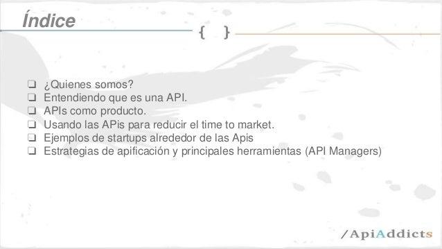 Las apis como modelo de negocio Slide 2
