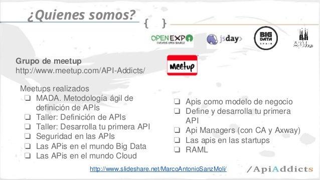 Las apis como modelo de negocio (api days mediterranea) Slide 2
