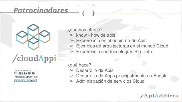 Las apis como modelo de negocio (api days mediterranea) Slide 3