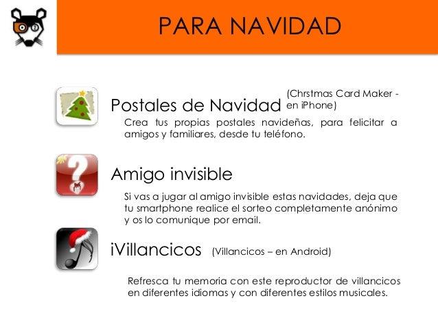PARA NAVIDAD                                   (Chrstmas Card Maker -Postales de Navidad                en iPhone) Crea tu...