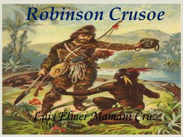 Robinson Crusoe Luis Elmer Mamani Cruz