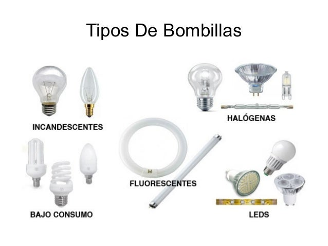 Las bombillas pdf for Tipos de fluorescentes