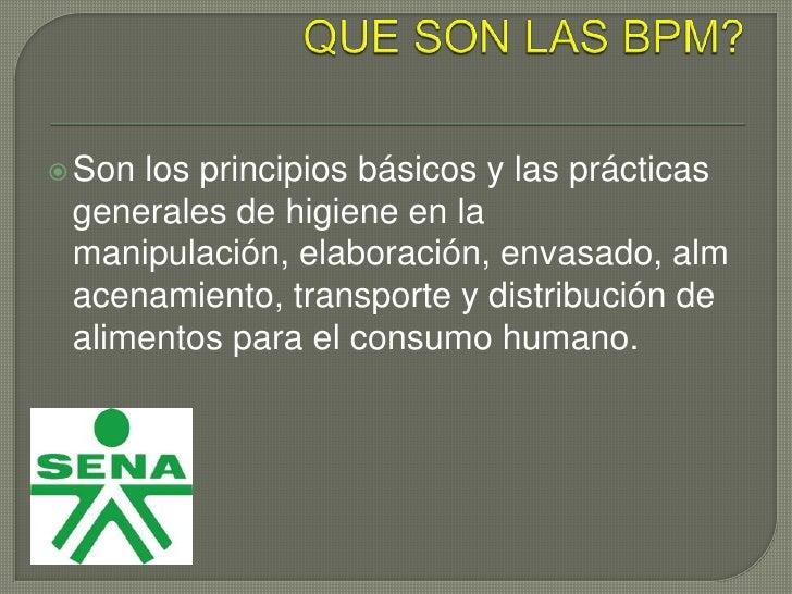 Las bpm en la industria lactea for Manual de buenas practicas de higiene y manipulacion de alimentos