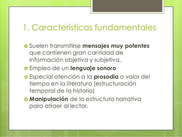 Las Características Del Lenguaje Literario En Inglés