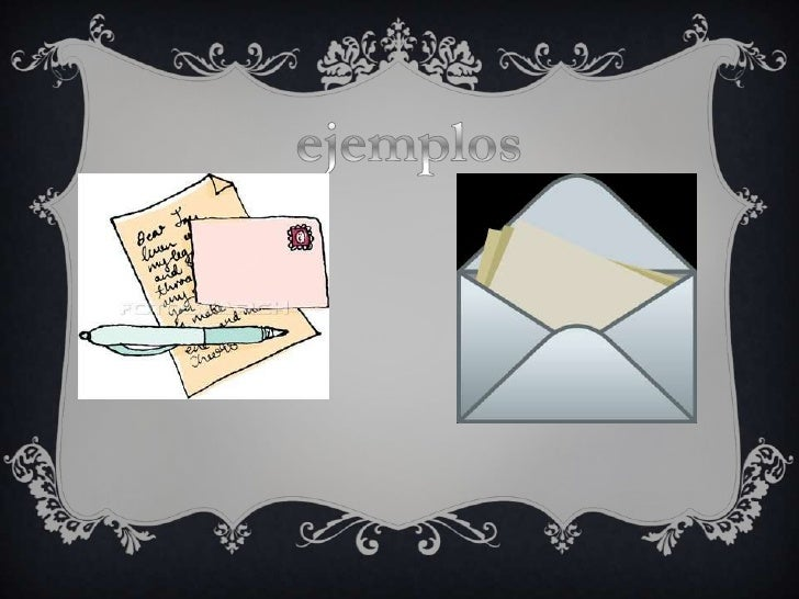 Las cartas Slide 3
