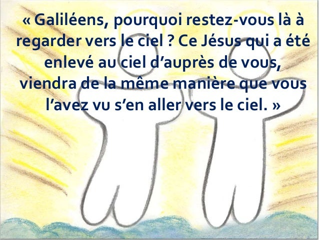 L'ascension de Jésus