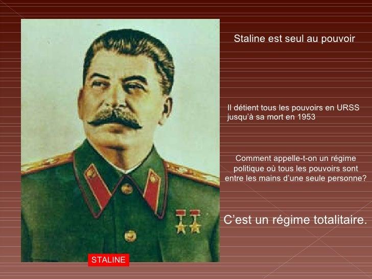 mort regime urss