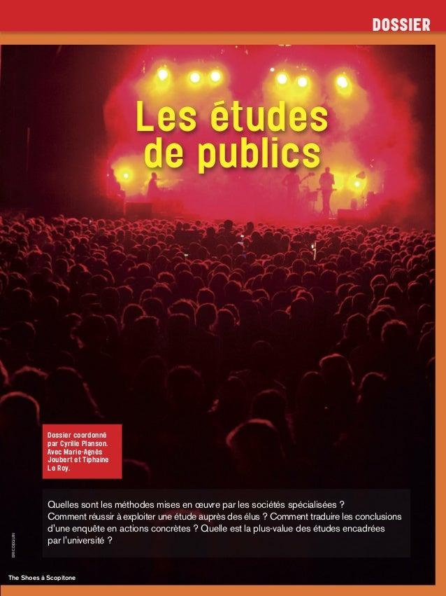 ERICDEGUIN The Shoes à Scopitone Les études de publics Dossier coordonné par Cyrille Planson. Avec Marie-Agnès Joubert et ...