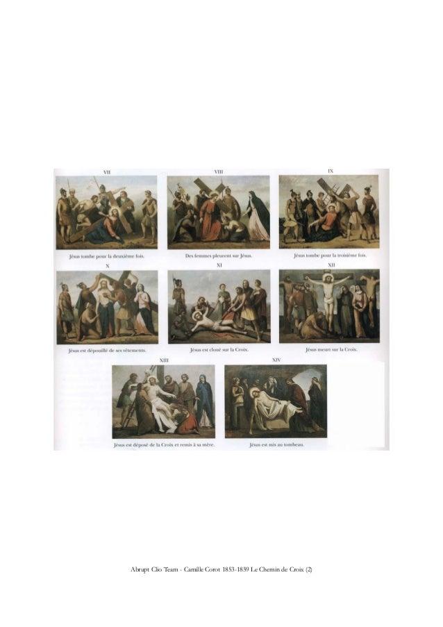Abrupt Clio Team - Camille Corot 1853-1859 Le Chemin de Croix (2)