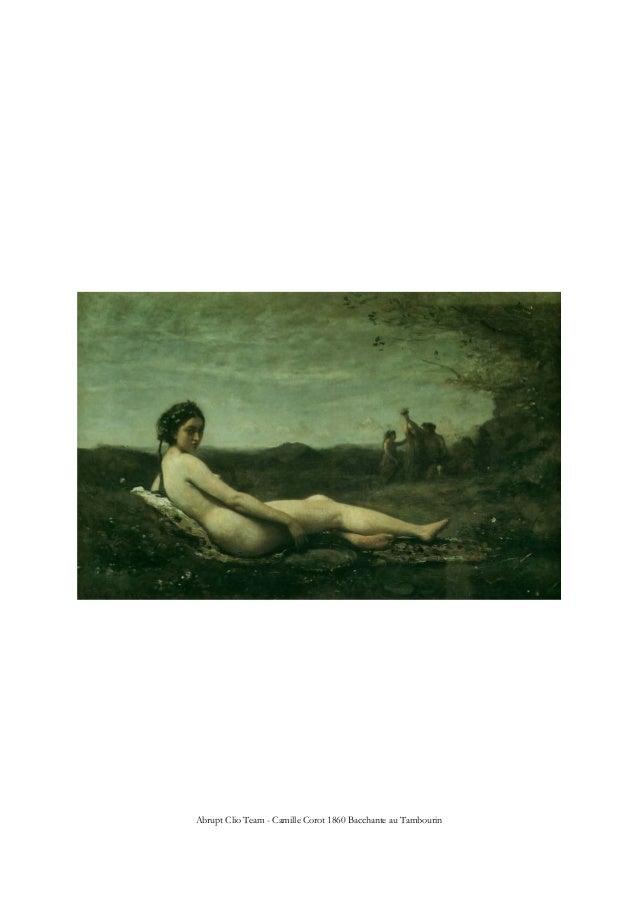 Abrupt Clio Team - Camille Corot 1860 Bacchante au Tambourin