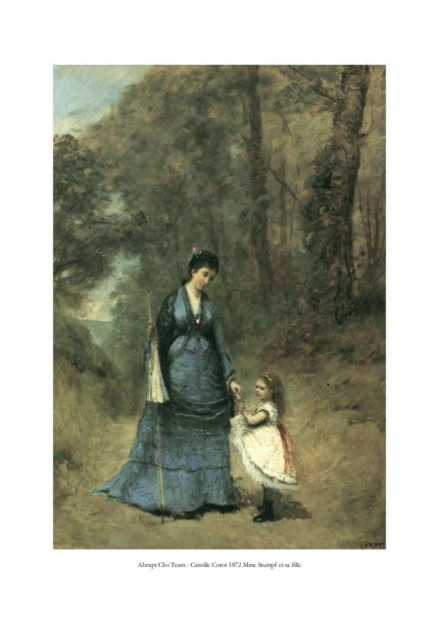 Abrupt Clio Team - Camille Corot 1872 Mme Stumpf et sa fille