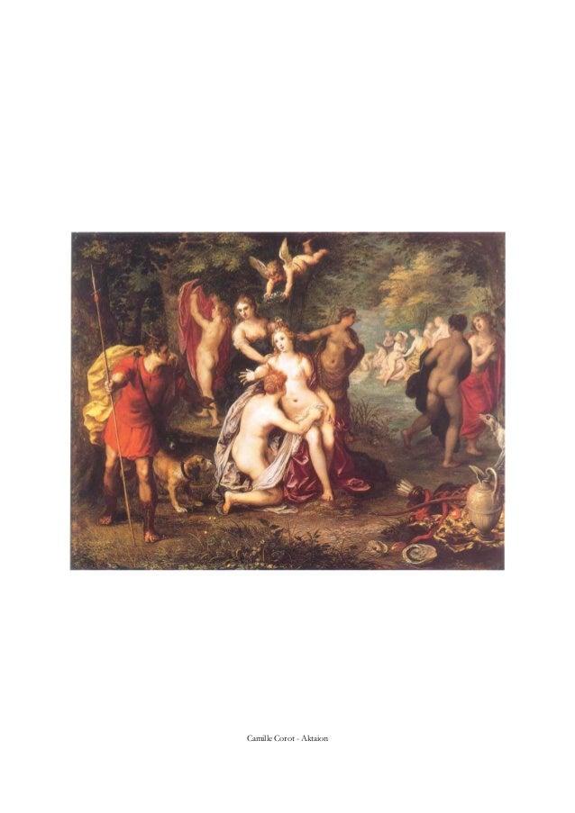Camille Corot - Aktaion