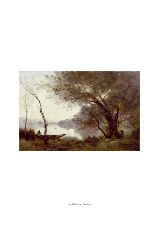 Camille Corot - Boatman