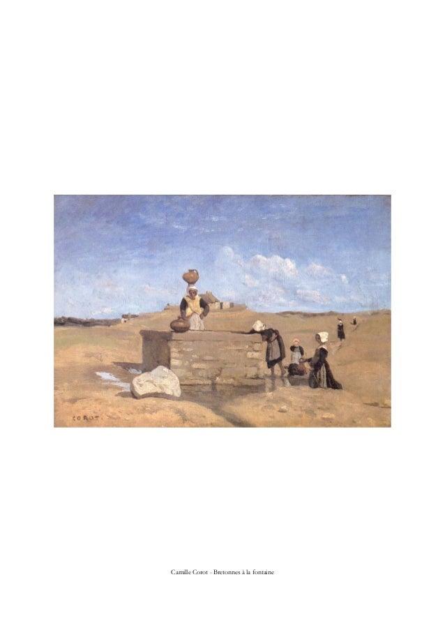Camille Corot - Bretonnes à la fontaine