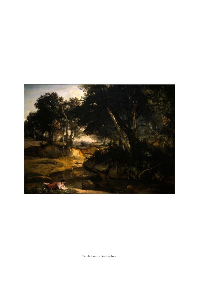 Camille Corot - Fontainebleau