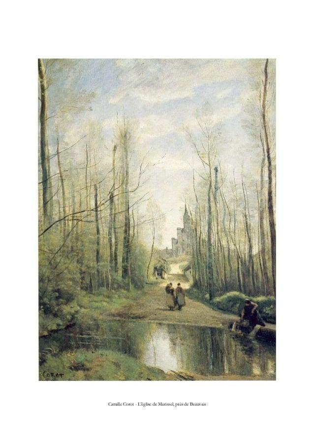 Camille Corot - L'église de Marissel, près de Beauvais