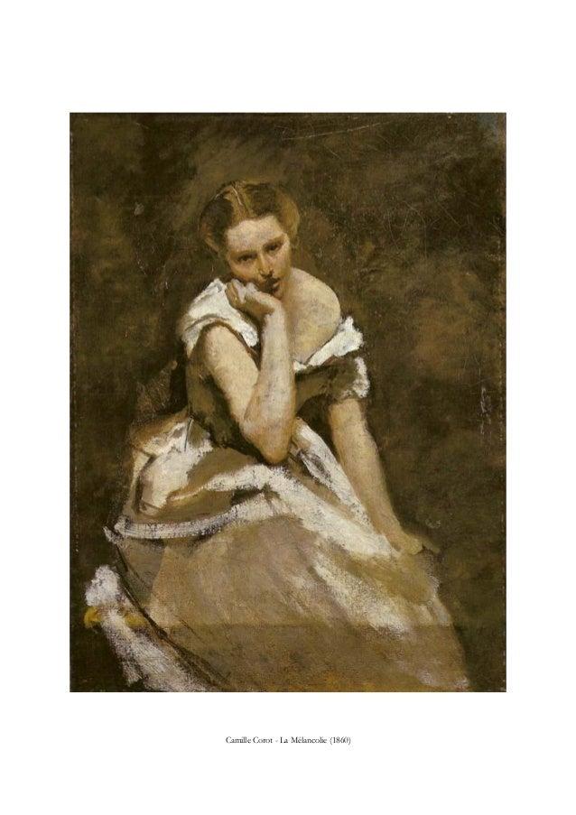 Camille Corot - La Mélancolie (1860)