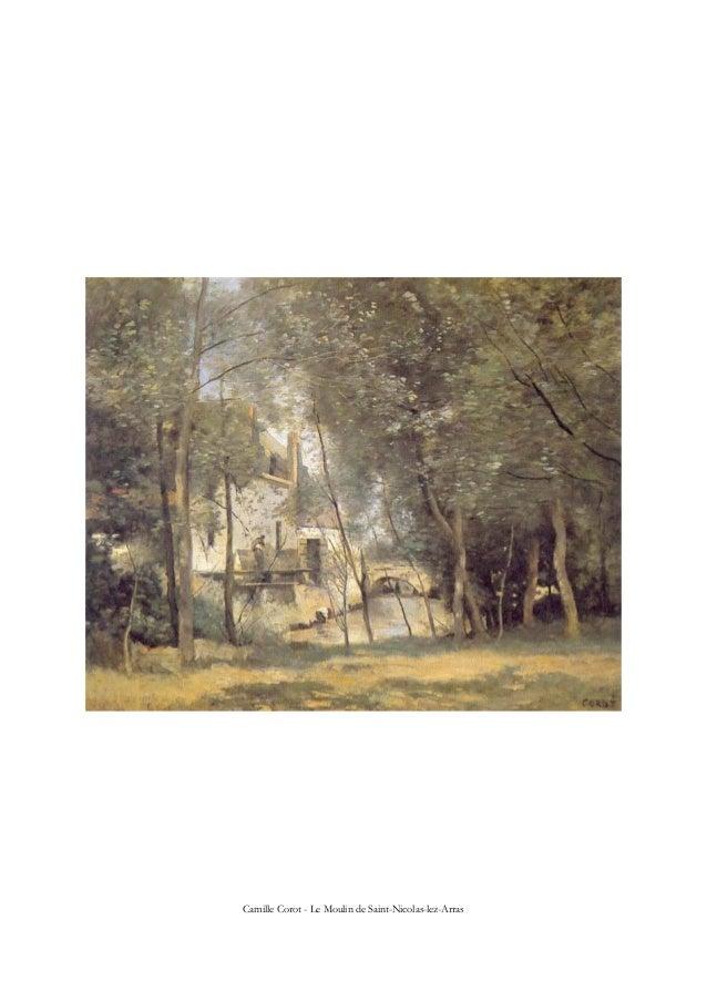Camille Corot - Le Moulin de Saint-Nicolas-lez-Arras
