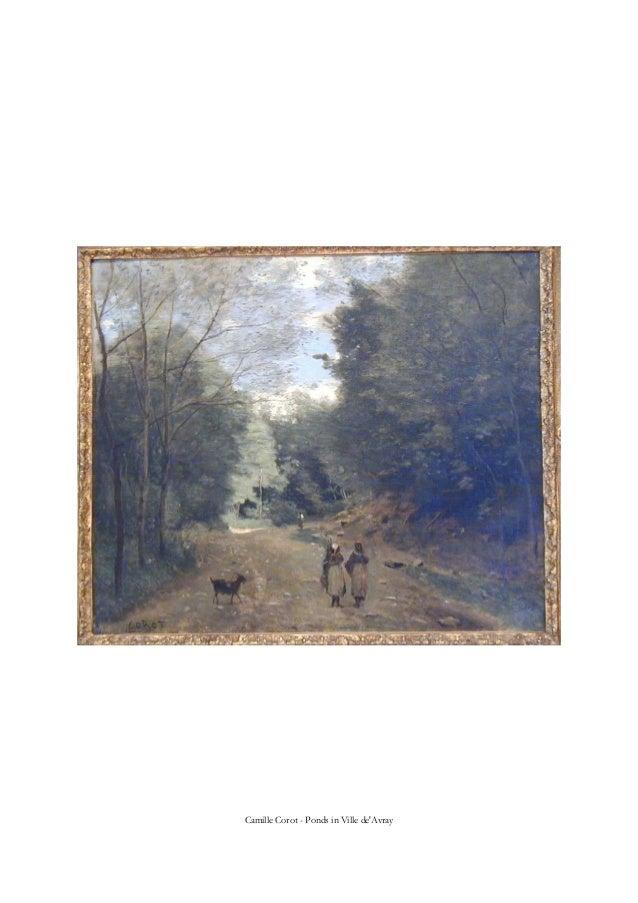 Camille Corot - Ponds in Ville de'Avray