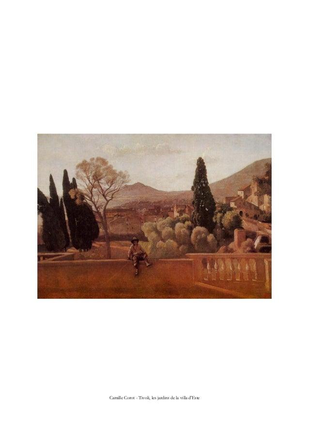Camille Corot - Tivoli, les jardins de la villa d'Este