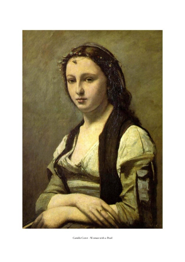 Camille Corot - Woman with a Pearl