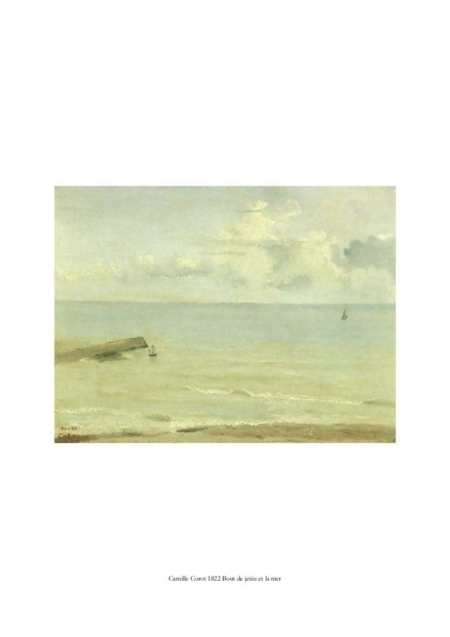 Camille Corot 1822 Bout de jetée et la mer