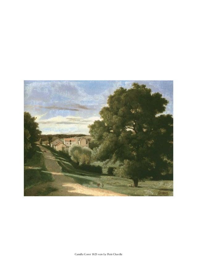 Camille Corot 1825 vers Le Petit Chaville