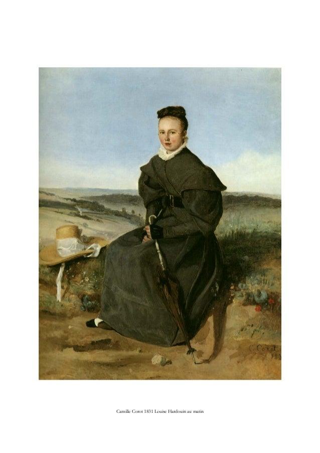 Camille Corot 1831 Louise Hardouin au matin
