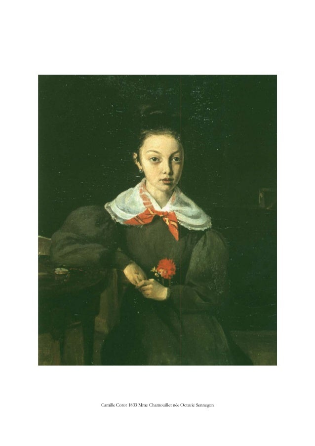 Camille Corot 1833 Mme Chamouillet née Octavie Sennegon