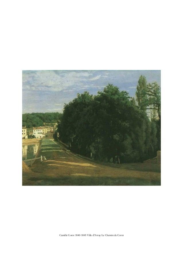 Camille Corot 1840-1845 Ville d'Avray Le Chemin de Corot