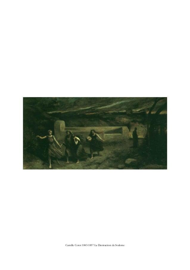 Camille Corot 1843-1857 La Destruction de Sodome