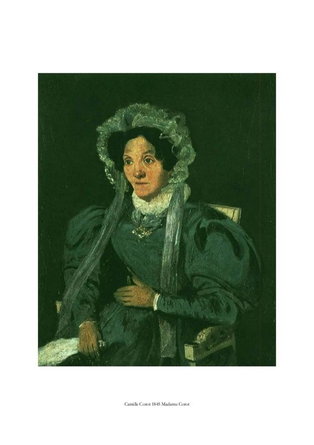 Camille Corot 1845 Madame Corot