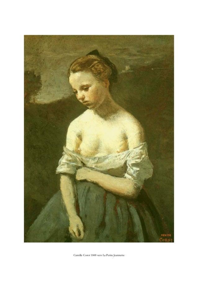 Camille Corot 1848 vers La Petite Jeannette