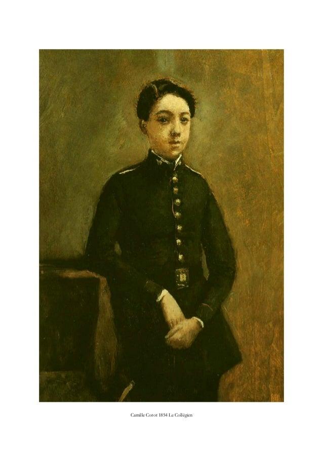 Camille Corot 1854 Le Collégien