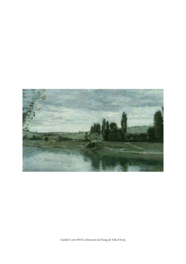 Camille Corot 1855 Le Déversoir de l'étang de Ville d'Avray