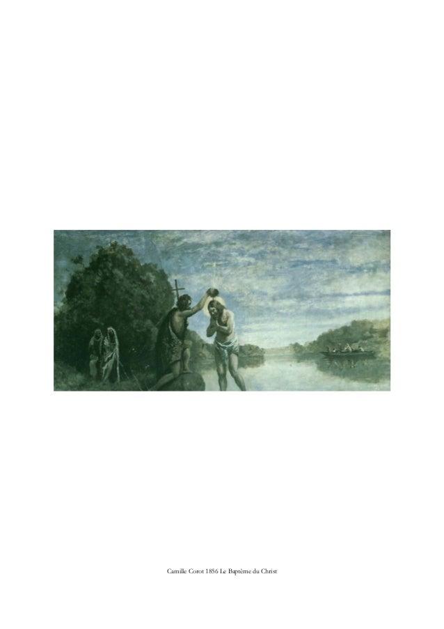 Camille Corot 1856 Le Baptême du Christ