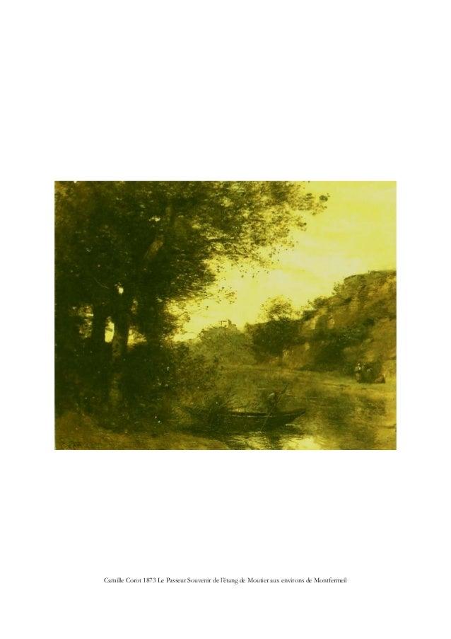 Camille Corot 1873 Le Passeur Souvenir de l'étang de Moutier aux environs de Montfermeil