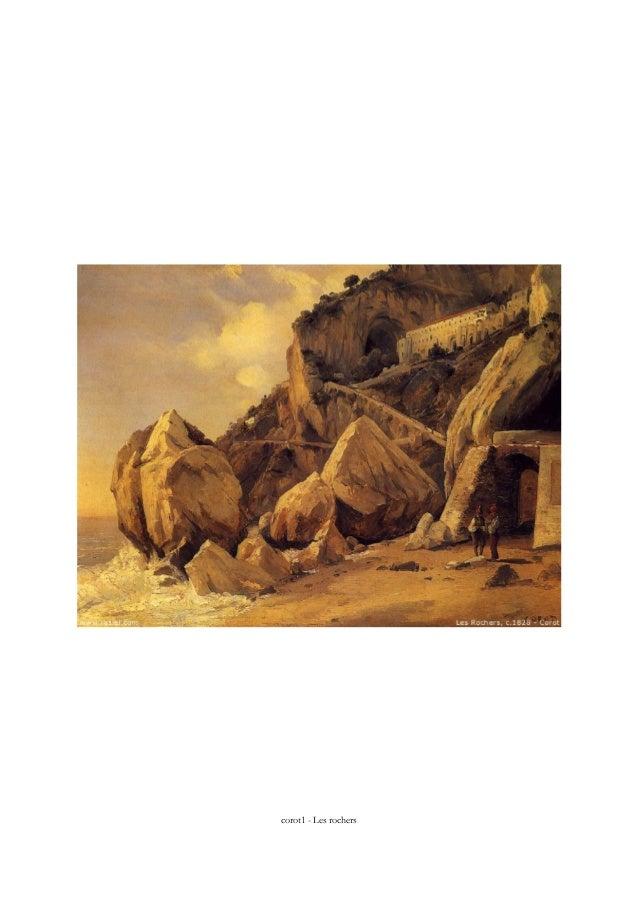 corot1 - Les rochers