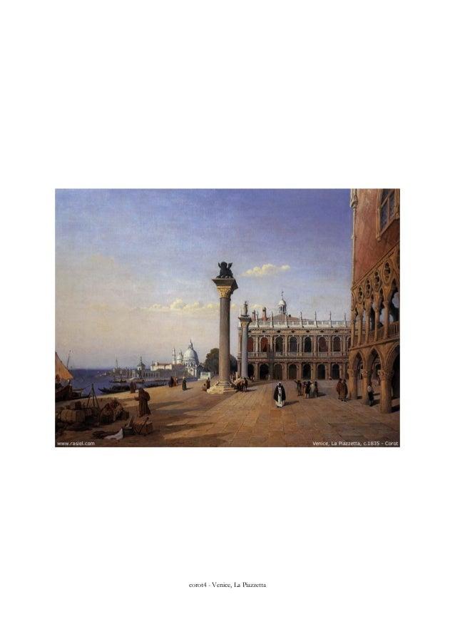 corot4 - Venice, La Piazzetta