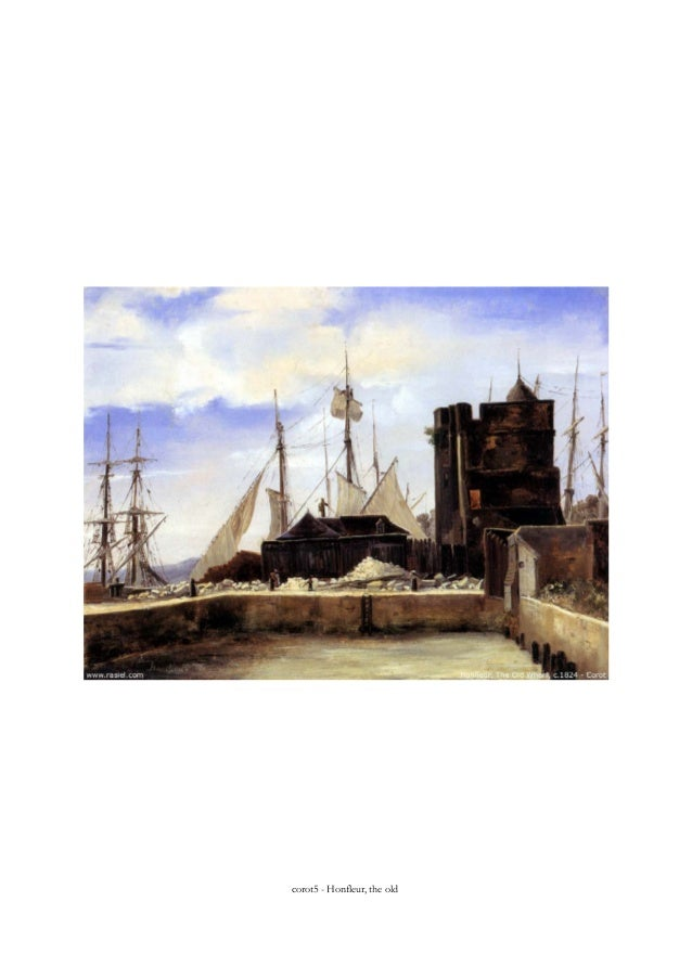 corot5 - Honfleur, the old
