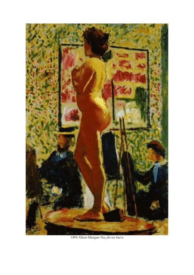 1898 Albert Marquet Nu, dit nu fauve