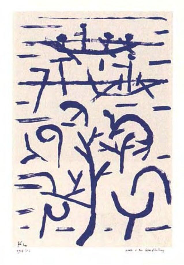 Las colecciones Paul Klee parte 4 p