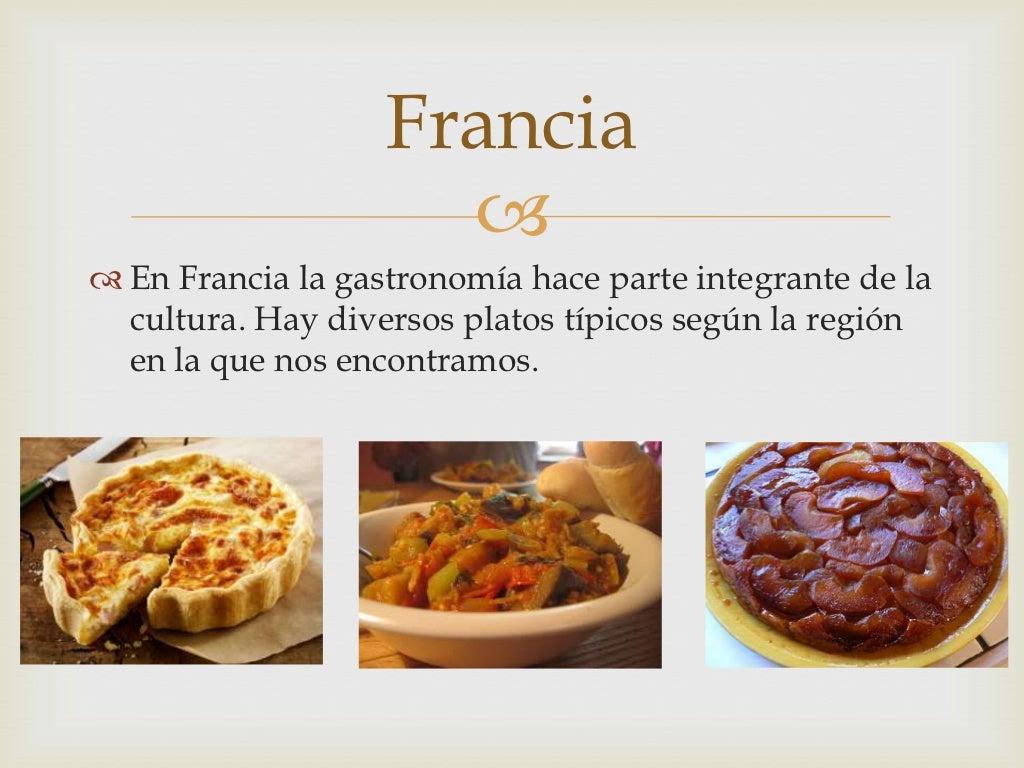Las comidas t picas for Comidas tipicas francesas