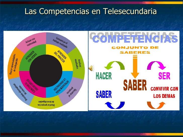 Las Competencias en Telesecundaria