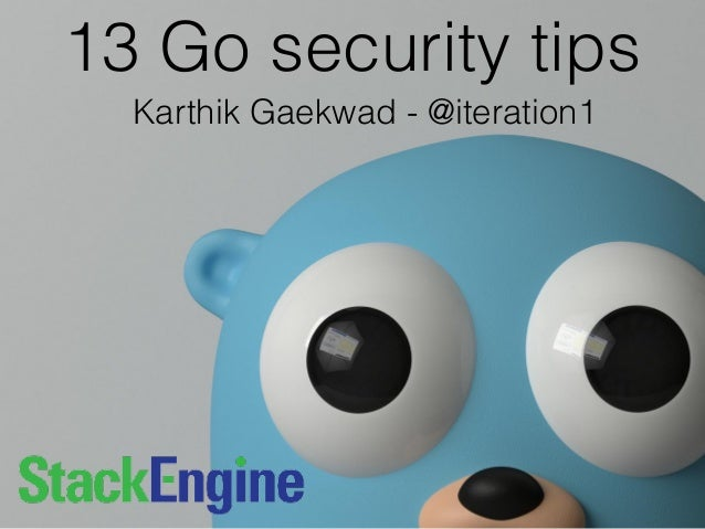 13 practical tips for writing secure golang applications