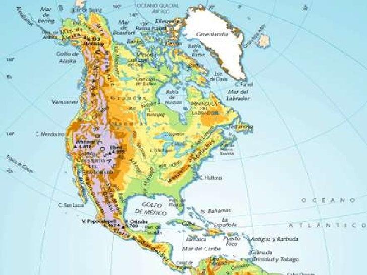 Los Continentes Condiciones Naturales