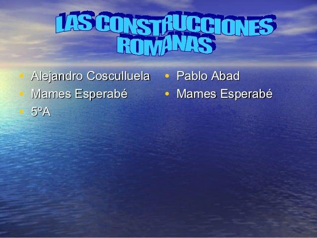 •   Alejandro Cosculluela   • Pablo Abad•   Mames Esperabé          • Mames Esperabé•   5ºA